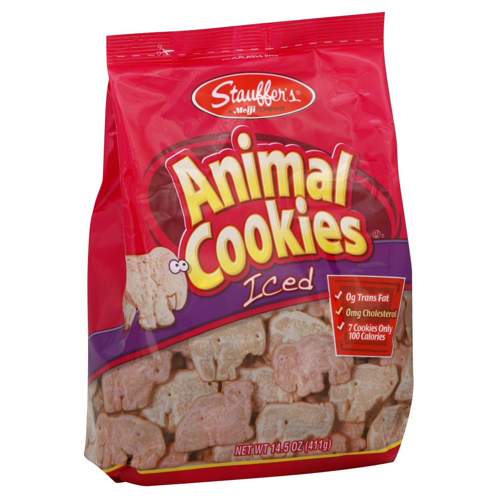 Stauffer Christmas Cookies  Stauffer s Animal Cookies Iced 14 5 oz 411 g Food