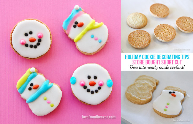 Store Bought Christmas Cookies  Christmas Cookie Decorating Tips For Holiday Baking