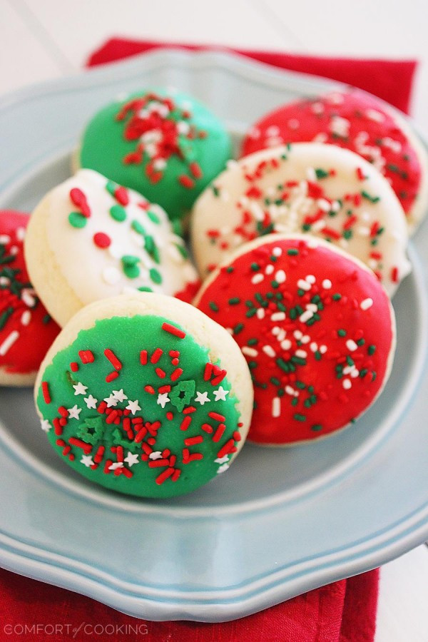 Store Bought Christmas Cookies  Soft Frosted Lofthouse Style Cookies