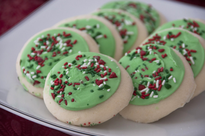 Store Bought Christmas Cookies  Frosted Lofthouse Sugar Cookies