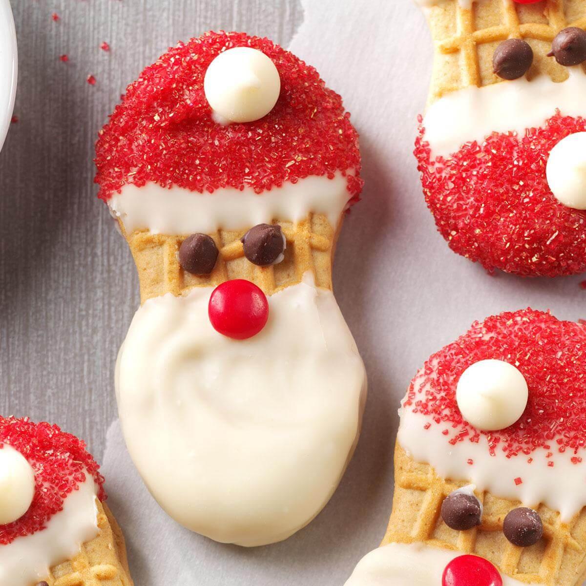 Storing Christmas Cookies  Santa Claus Cookies Recipe