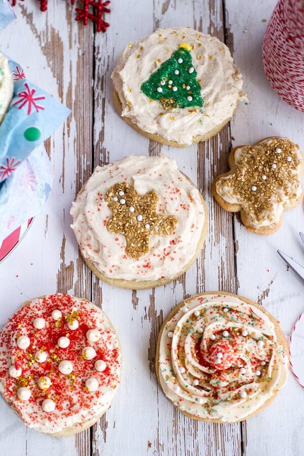 Storing Christmas Cookies  Slice n Bake Vanilla Bean Christmas Sugar Cookies