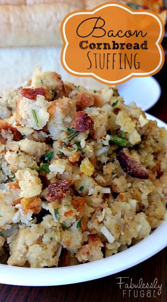 Stuffing Thanksgiving Side Dishes  Best 25 Cornbread stuffing ideas on Pinterest