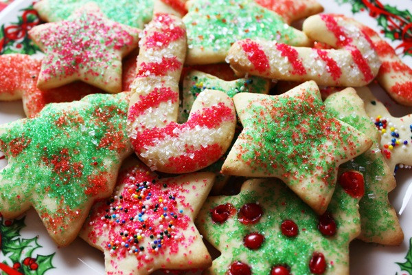 Sugar Christmas Cookies Recipe  Healthier Christmas Sugar Cookies Jenny Can Cook