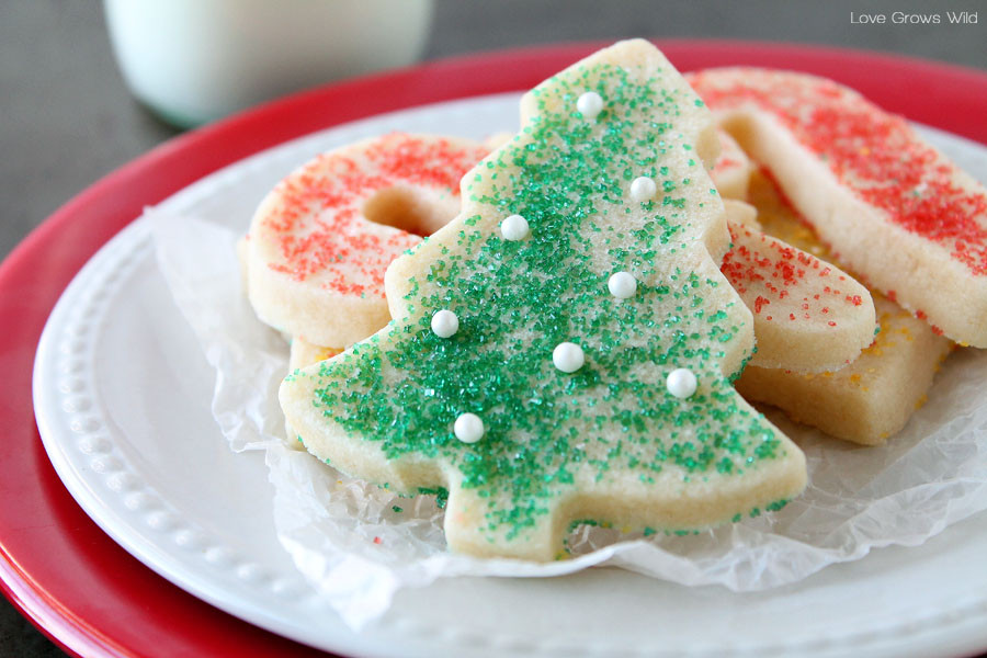 Sugar Christmas Cookies Recipe  The BEST Sugar Cookie Cut out recipe
