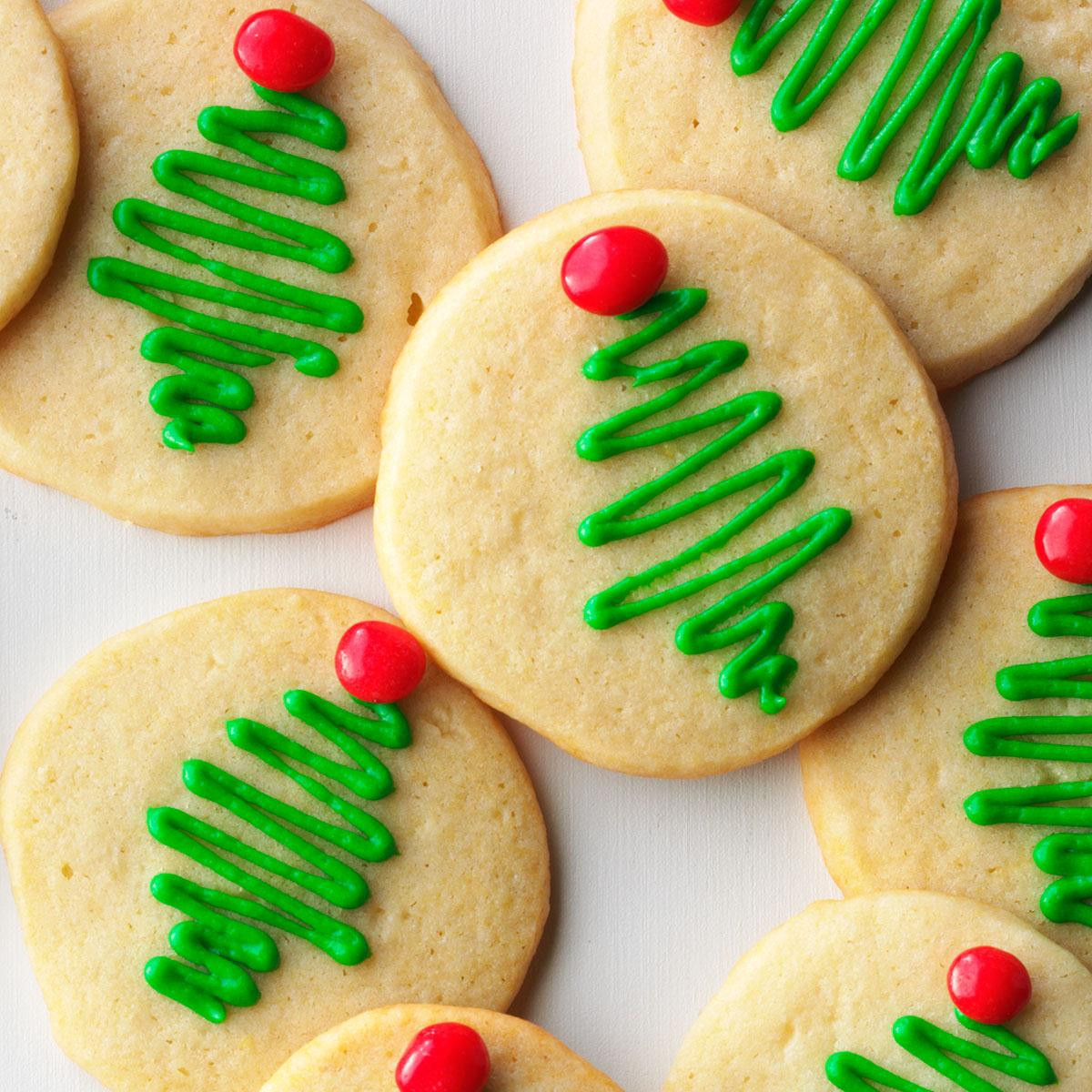 Sugar Cookies Christmas  Holiday Sugar Cookies Recipe