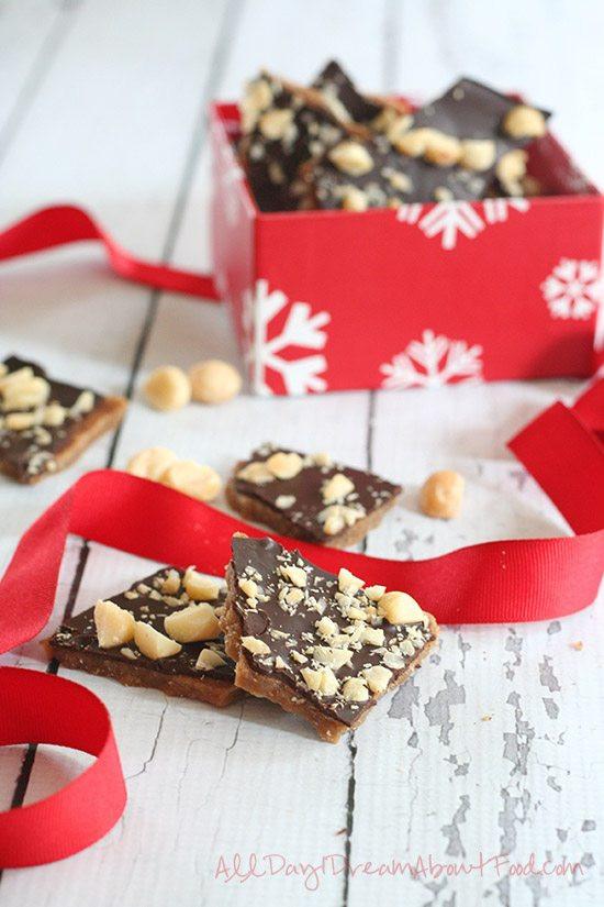 Sugar Free Christmas Candy  Low Carb Sugar Free English Toffee Recipe