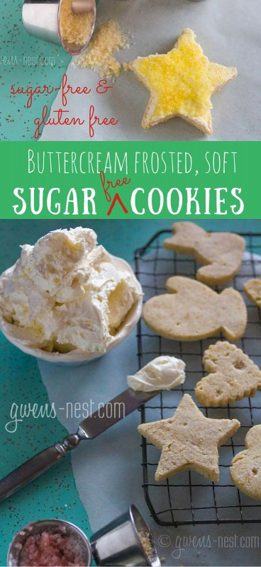 Sugar Free Christmas Cookie Recipes  Christmas Sugar Cookie Recipe GF & SF