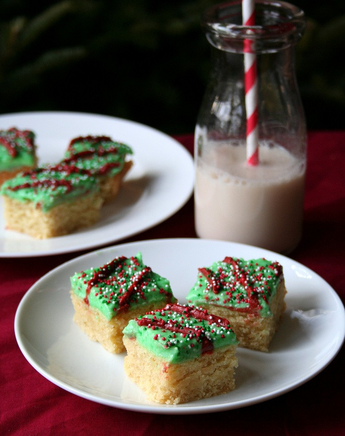 Sugar Free Christmas Cookie Recipes  Sugar Cookie Bars – Low Carb and Gluten Free