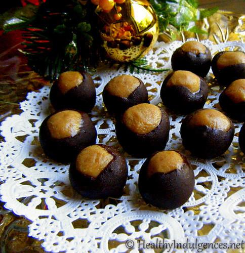 Sugarfree Christmas Candy  Chocolate Giveaways Healthier Buckeyes and Christmas