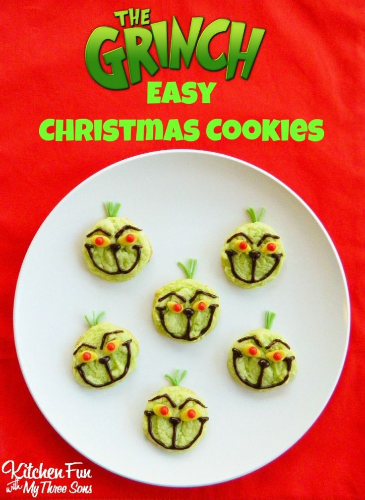 Super Easy Christmas Cookies  8537 best Fun Food for Kids images on Pinterest