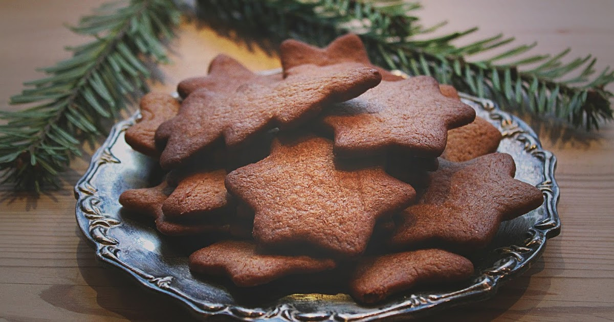 Swedish Christmas Cookies  adventurefood Pepparkakor Swedish Christmas Cookies
