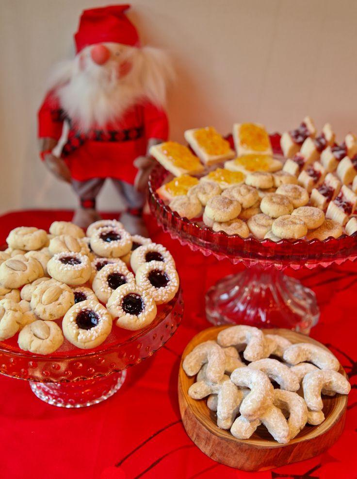 Swedish Christmas Cookies  1 Dough 6 Cookies – A Scandinavian Christmas Cookie