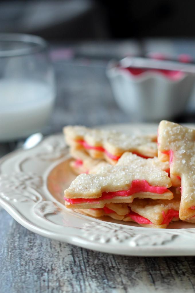 Swedish Christmas Cookies  My Grandmas Flaky Sandwich Christmas Cookies