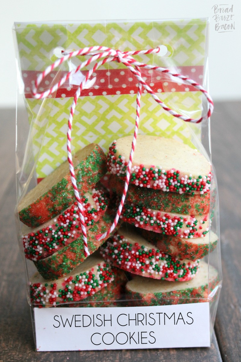 Swedish Christmas Cookies  Swedish Christmas Cookies • Bread Booze Bacon