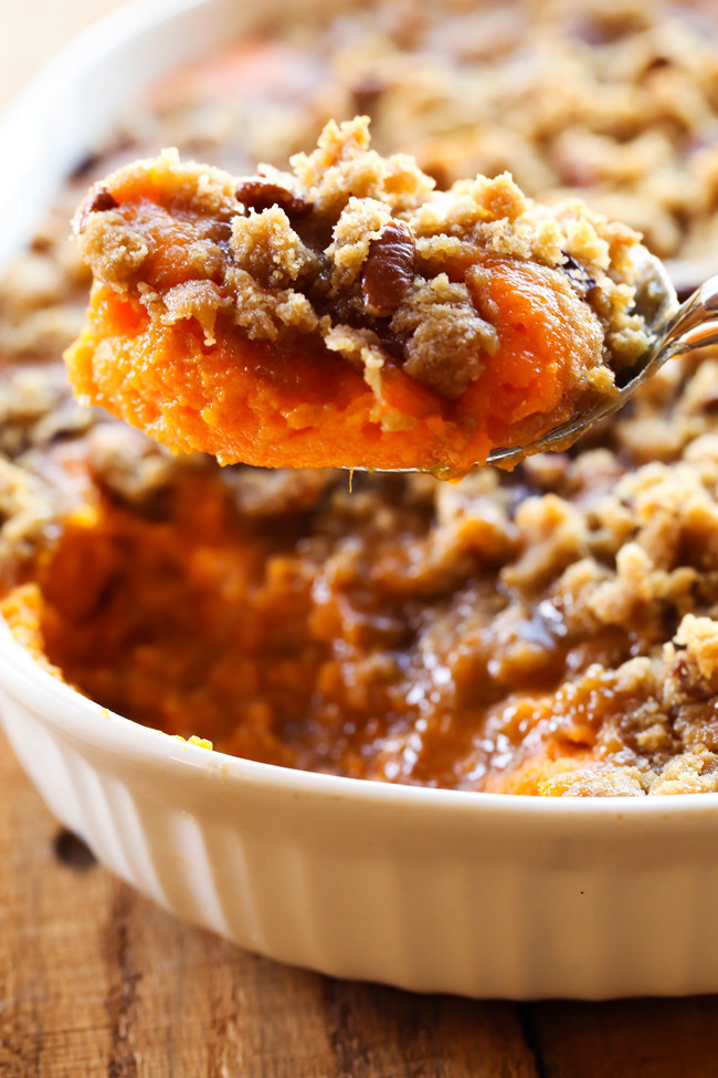 Sweet Potatoes For Thanksgiving  Sweet Potato Casserole Thanksgiving Side Dish Chef in