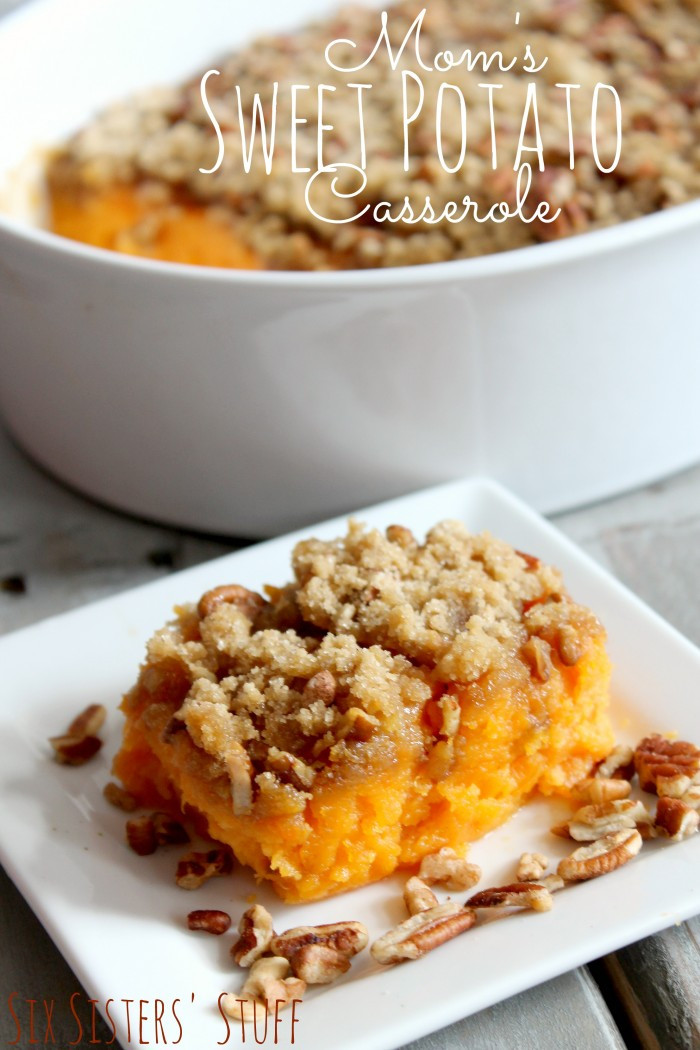Sweet Potatoes For Thanksgiving  Thanksgiving Side Dishes The Idea Room