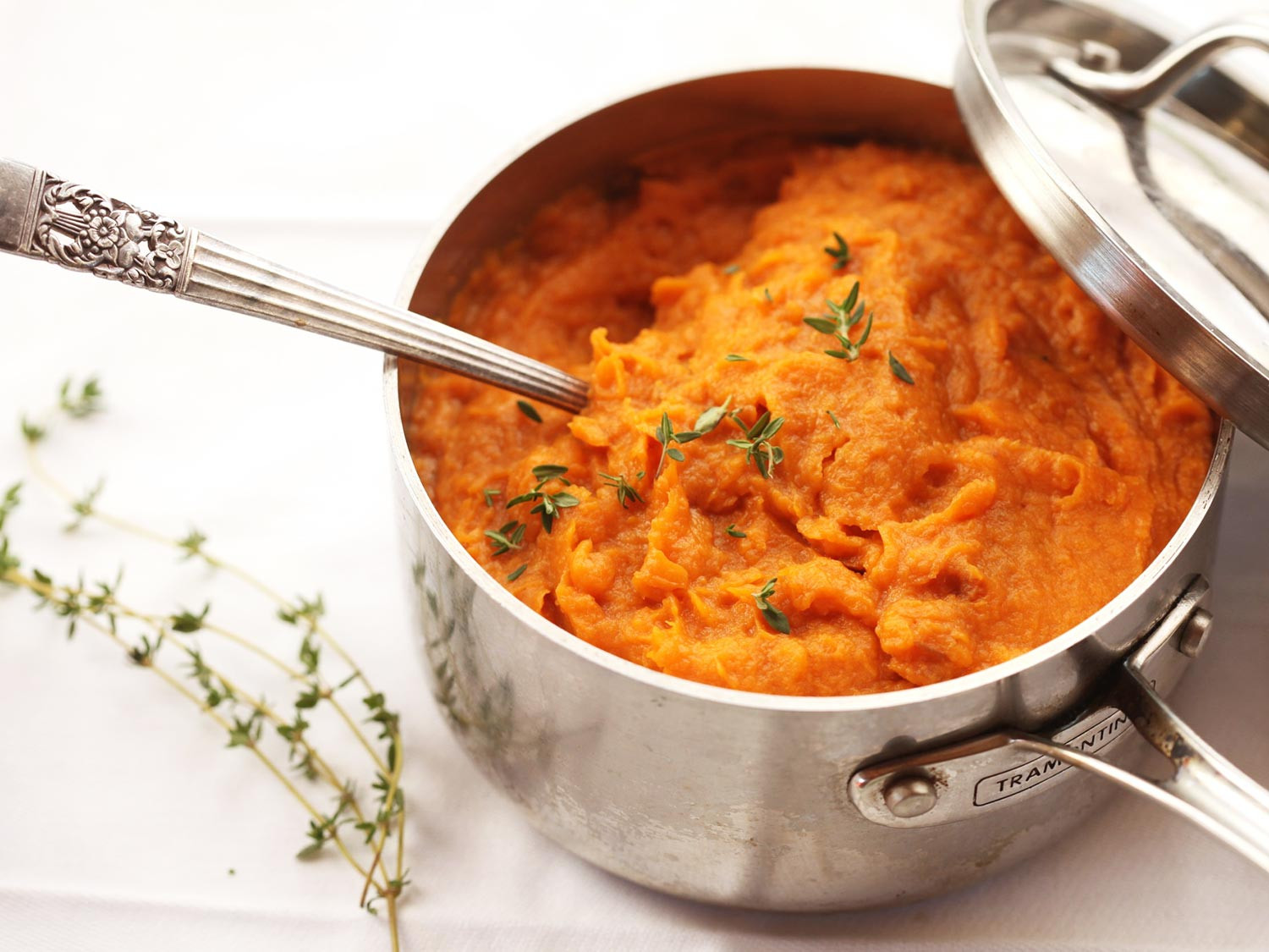 Sweet Potatoes For Thanksgiving  The Food Lab For the Best Mashed Sweet Potatoes Use