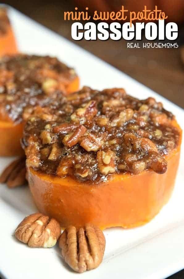 Sweet Potatoes Thanksgiving Side Dishes  Mini Sweet Potato Casserole Easy Thanksgiving Side Dish