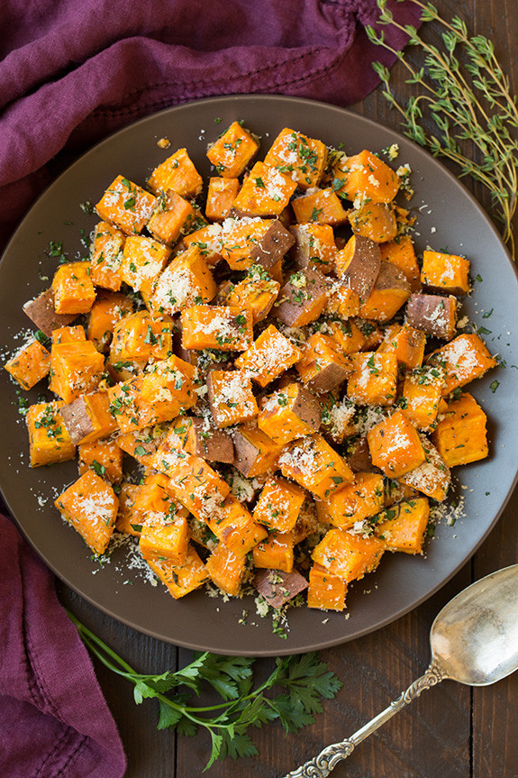 Sweet Potatoes Thanksgiving Side Dishes  20 Easy Thanksgiving Side Dishes Best Recipes for