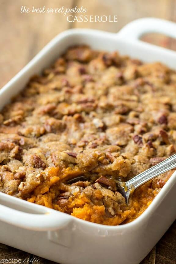 Sweet Potatoes Thanksgiving Side Dishes  15 Thanksgiving Side Dishes