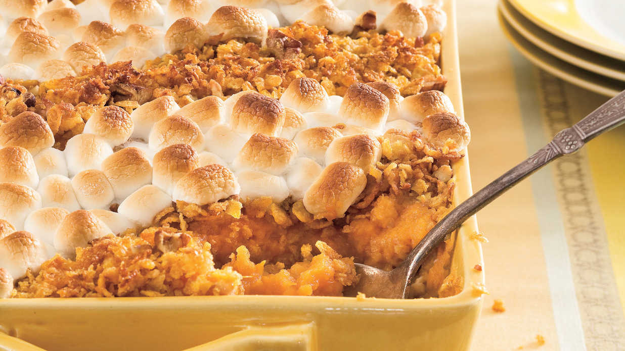 Sweet Potatoes Thanksgiving Side Dishes  Best Thanksgiving Side Dish Recipes Southern Living