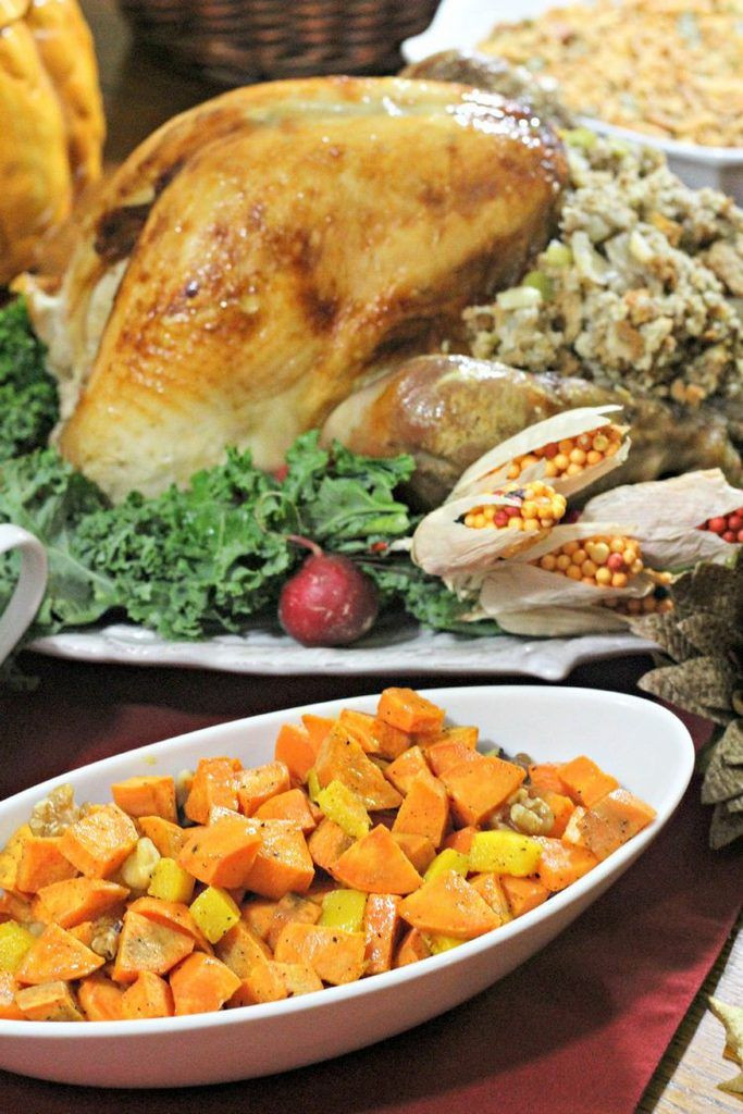 Sweet Potatoes Thanksgiving Side Dishes  Sweet & Sour Pumpkin and Sweet Potato Amazing