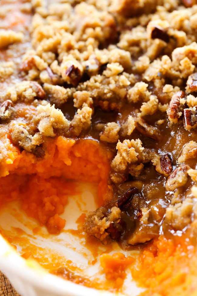 Sweet Potatoes Thanksgiving Side Dishes  Sweet Potato Casserole Thanksgiving Side Dish Chef in