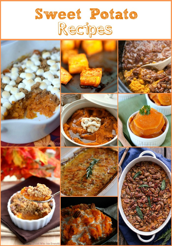 Sweet Potatoes Thanksgiving Side Dishes  Everything But The Turkey Part 2