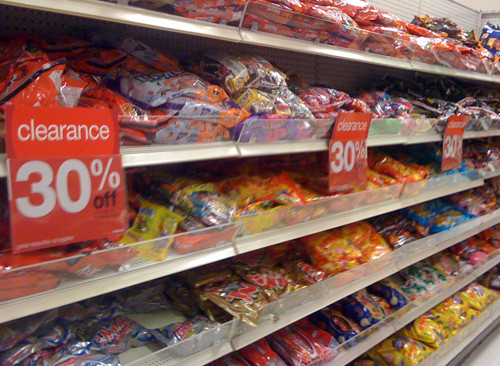 Target Christmas Candy  After Halloween clearance more than just candy