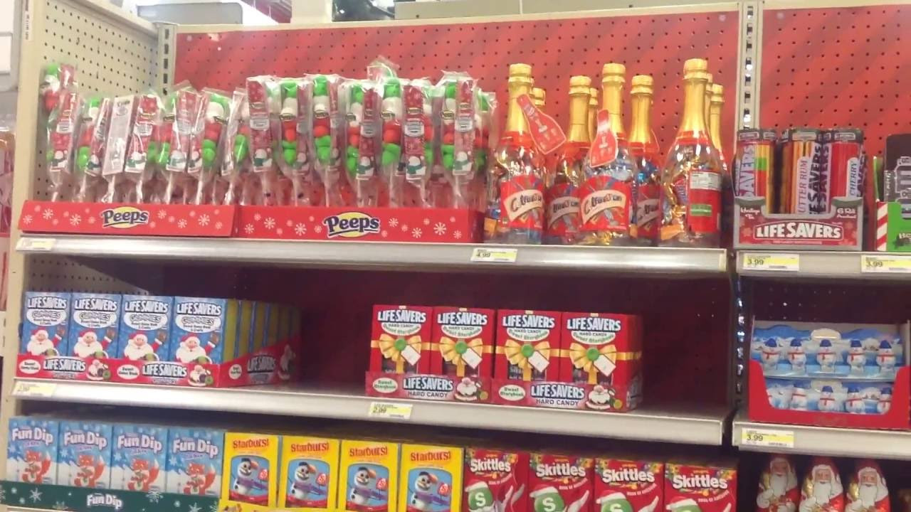 Target Christmas Candy  Tar Christmas Candy Section