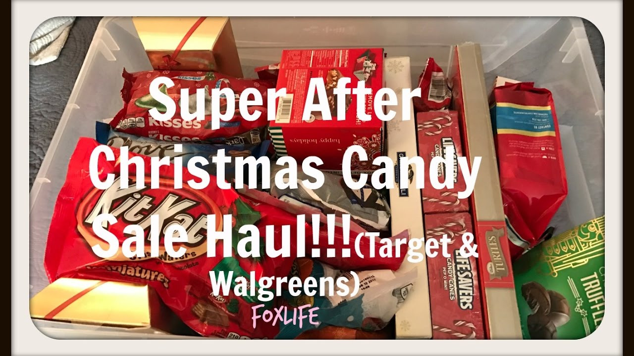 Target Christmas Candy  Super After Christmas Candy Sale Haul Tar & Walgreens