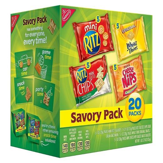 Target Christmas Crackers  Nabisco Savory Cracker Mix 20ct Tar