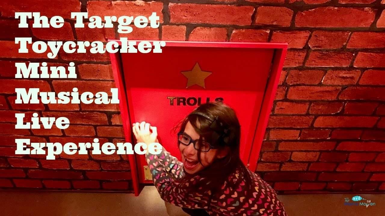 Target Christmas Crackers  The Tar Toycracker Mini Musical Live Experience Tar