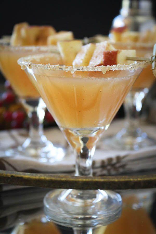 Thanksgiving Alcoholic Drinks  Thanksgiving Vanilla Bean Caramel Apple Cider Sparkling