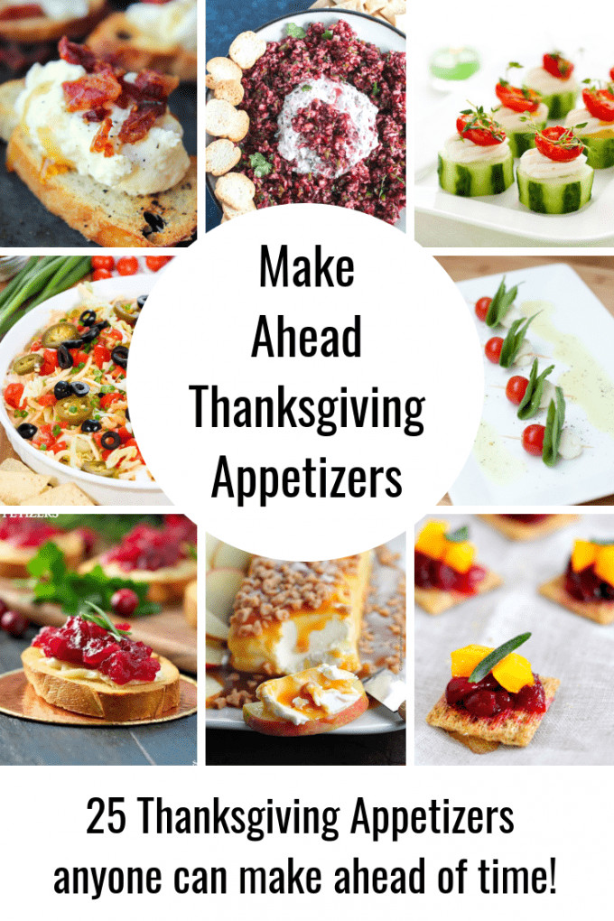 Thanksgiving Appetizers Make Ahead  25 Best Make Ahead Appetizers for Thanksgiving & Christmas
