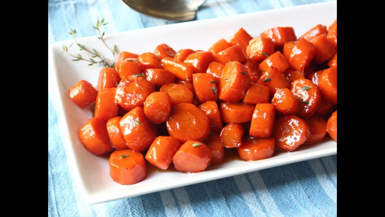Thanksgiving Carrot Side Dishes  Bourbon Glazed Carrots Special Occasion Carrot Side Dish