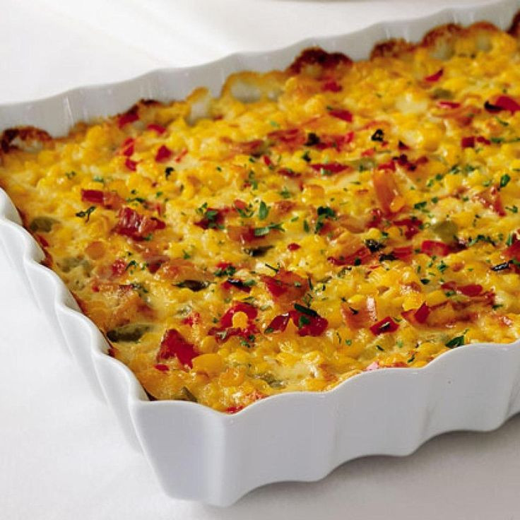 Thanksgiving Corn Recipes  Indiana Corn Casserole Recipe