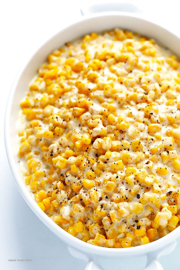 Thanksgiving Corn Recipes  Slow Cooker Creamed Corn Recipe