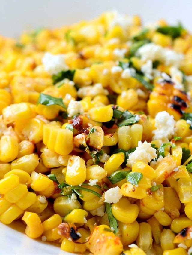 Thanksgiving Corn Recipes  Chipotle Lime Grilled Corn