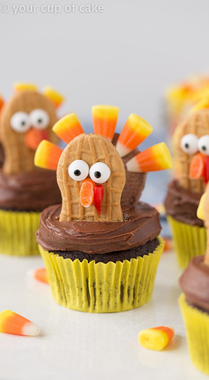 Thanksgiving Cupcakes Decorating Ideas  Turkey Cupcakes Thanksgiving Cupcake Decorating Your