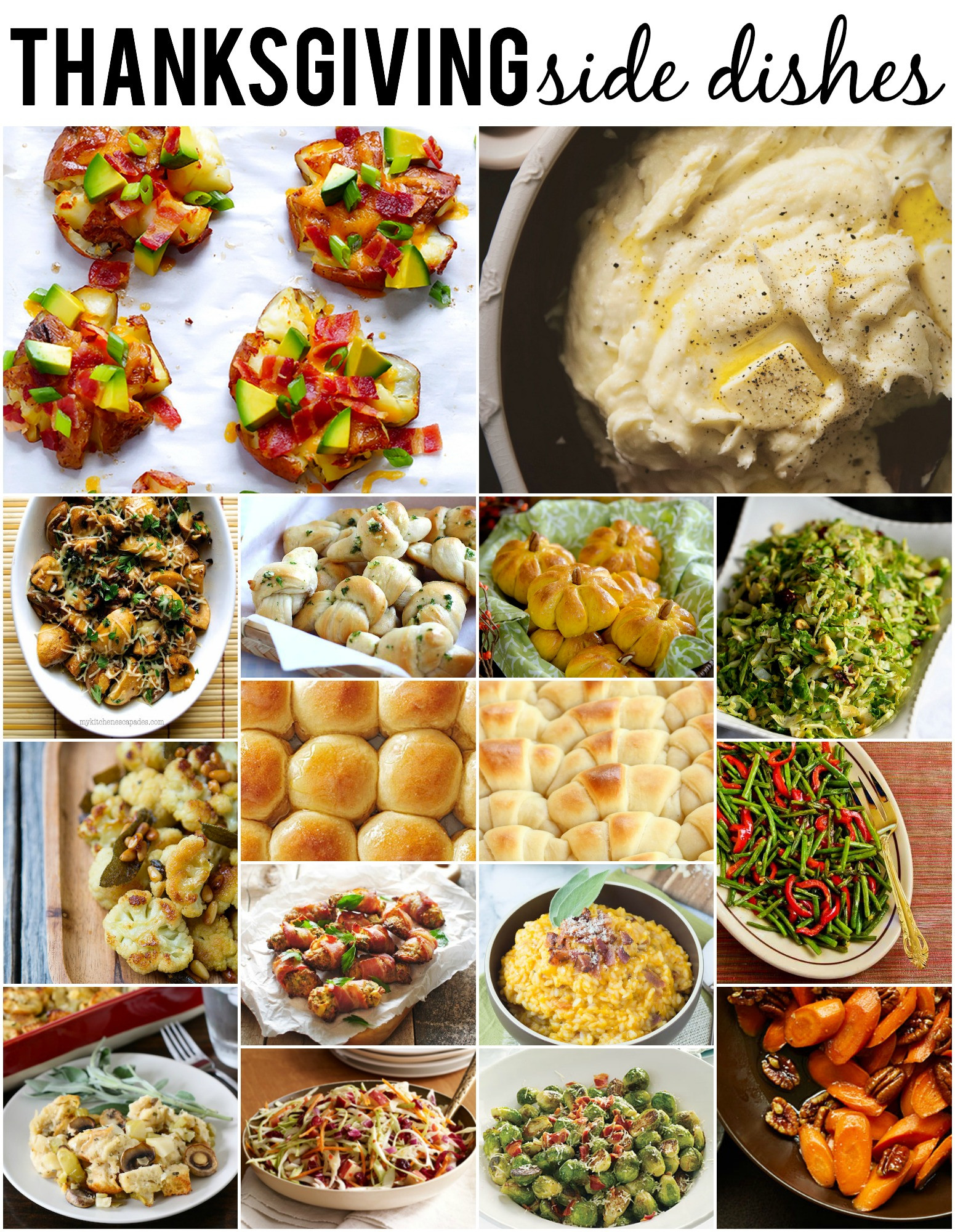 Thanksgiving Day Side Dishes  thanksgiving brussel sprouts recipes ina garten