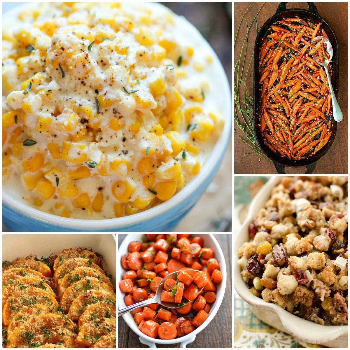 Thanksgiving Day Side Dishes  25 Most Pinned Side Dish Recipes for Thanksgiving and