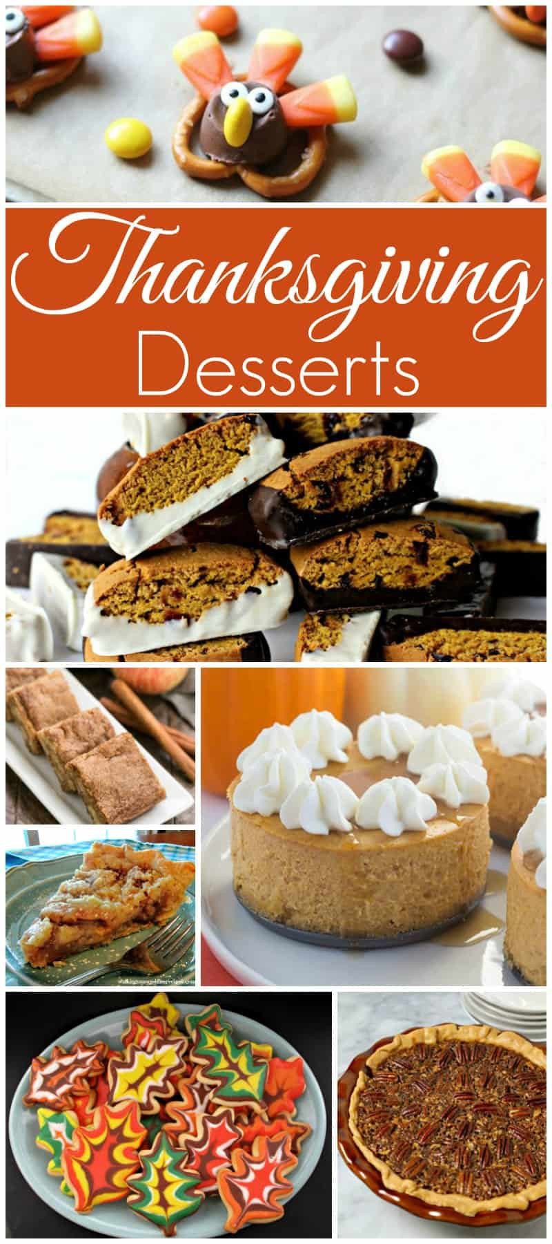 Thanksgiving Dessert Ideas  Thanksgiving Desserts and our Delicious Dishes Recipe Party