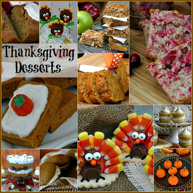 Thanksgiving Desserts Pictures  Thanksgiving Countdown Day 10 Desserts Hoosier Homemade