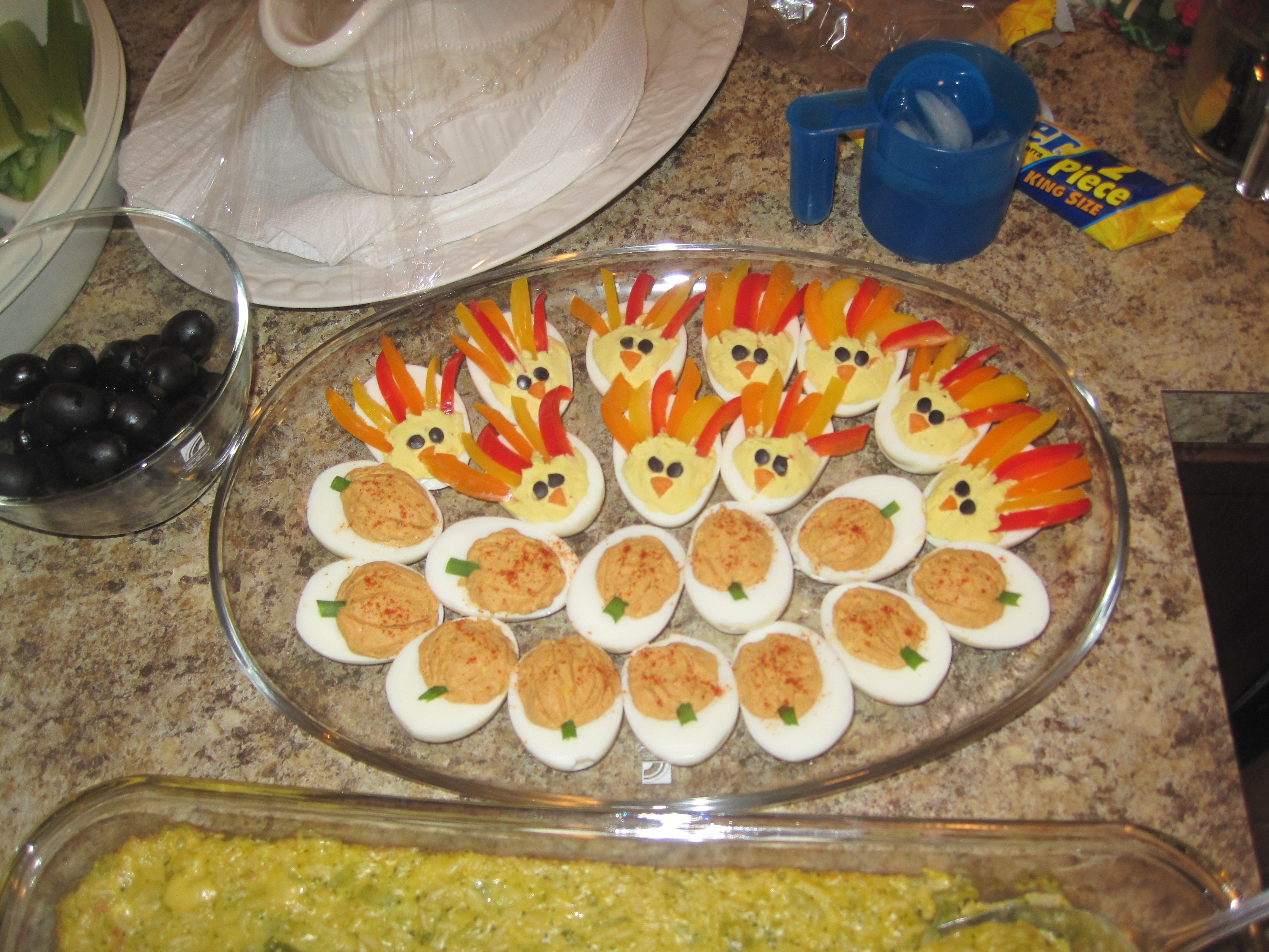 Thanksgiving Deviled Eggs  It's a Long e – the nelson network