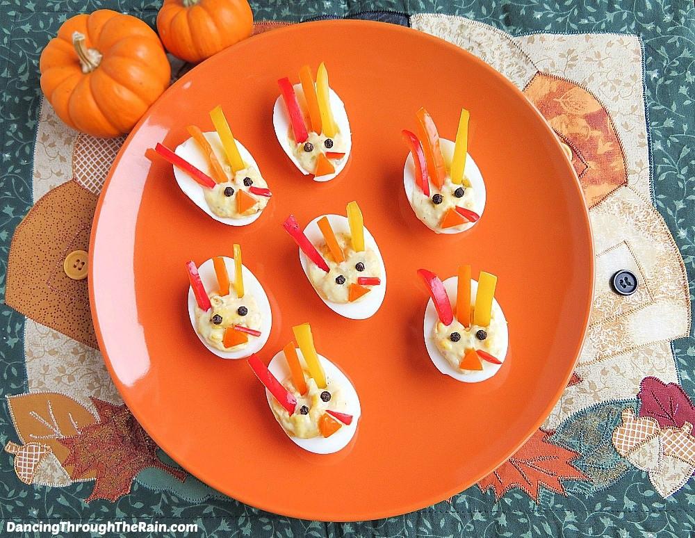 Thanksgiving Deviled Eggs Decorations  Best Deviled Eggs For Thanksgiving
