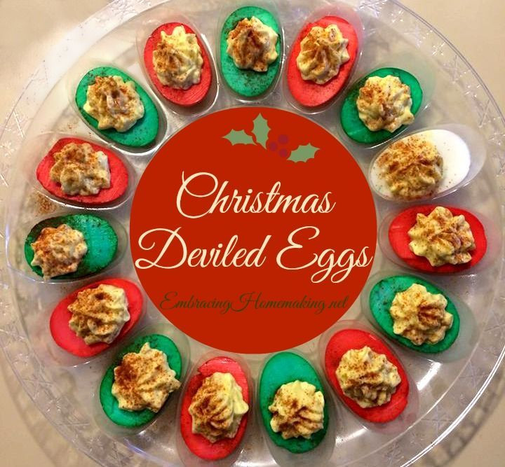 Thanksgiving Deviled Eggs Decorations  Aren t these Christmas deviled eggs cute Could make them
