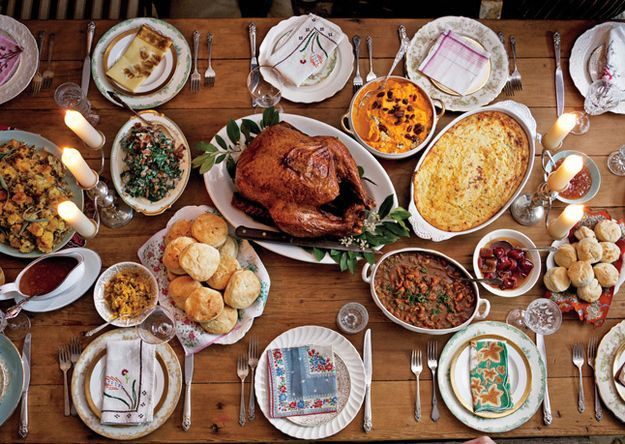 Thanksgiving Dinner Food  A New Take on the Traditional Thanksgiving Feast