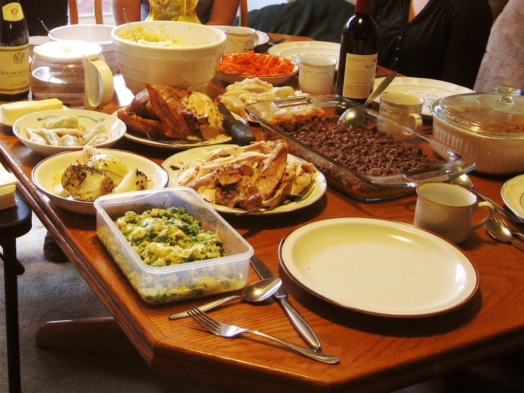 Thanksgiving Dinner Food  Me In Atlanta